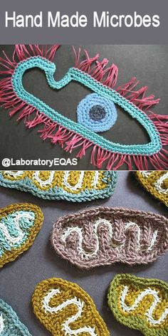 Hand Made Microbes  Since the invention of the microscope artists have been inspired by the beauty of life at the cellular level.