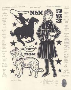 """Mom"", 2014."