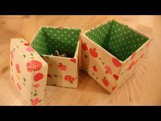Life樂生活 第20集 手創 (牛奶盒改造收納布盒與CD盒、護唇膏、芳香磚) - YouTube
