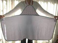 Resultado de imagen de toalla delantal baño bebe
