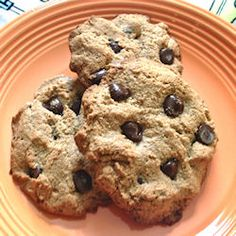 grain & dairy-free cookies sweetened with pure maple syrup.  Once i can introduce chocolate to my diet again