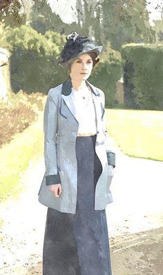 60 Downton Abbey Col