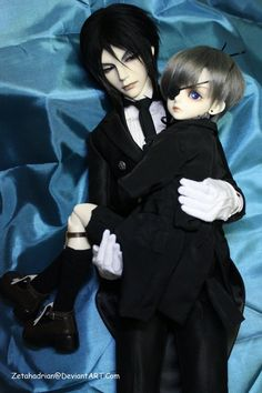 Sebastian and Ciel...love this
