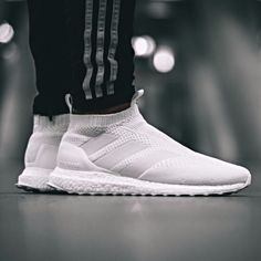 lowest price 2c8eb 9b081 NIB ADIDAS ACE 16+ ULTRABOOST AC7750 TRIPLE WHITE US 8.5  9 DEADSTOCK