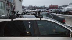 AUDI A3 FlushBar + WB300 #rackworld #whispbar #yakima #Inno #Thule #Atlant #Lux #Buzzrack #автобагажник #автобокс