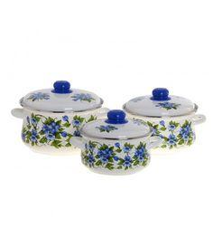 Набор эмалированной посуды Забава - Эмаль