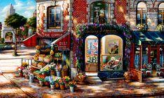 Village Corner by John P. O'Brien