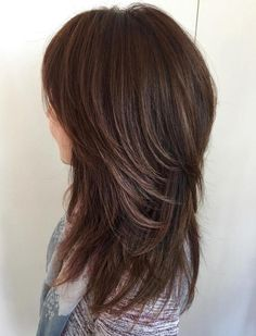 Medium To Long Layered Cut For Thick Hair