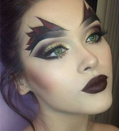 She Devil - The Most Hauntingly Gorgeous Halloween Makeup Looks on Instagram…