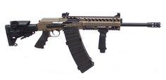 You're not bulletproof..., Saiga 12 A heavily modified Saiga 12 shotgun....