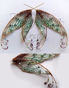 steampunk fairy wings | OOAK Artist Emporium - Fairy Wing Prints Inspiration for miniature making, LRPs or cosplay.