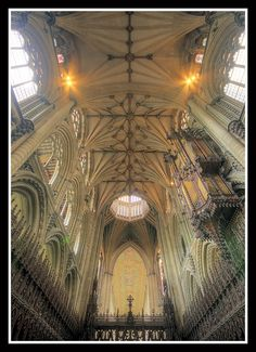 (Ely Cathedral )Above the Choir by veggiesosage, via Flickr