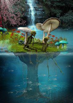 """Our Eden Found"" by Dan Verkys"