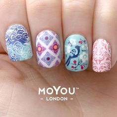 Authentic MoYou-London Nail Art Image Plate We are excited to introduce you MoYou-London here at Daily Charme! MoYou is a London-based brand, known for their innovative and high quality nail stamping