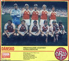 Jesper Olsen, Team Photos, Football Team, Danish, Movies, Movie Posters, Trading Cards, Prague, Picture Cards