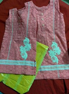 chicken shirt ..... cute Girls Dresses Sewing, Stylish Dresses For Girls, Dresses Kids Girl, Kids Outfits, Baby Dresses, Summer Dresses, Baby Girl Frocks, Kids Frocks, Frocks For Girls