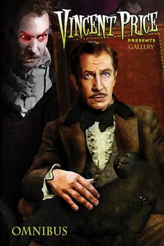 cover to Vincent Price Presents Gallery Omnibus #horror #vincentprice