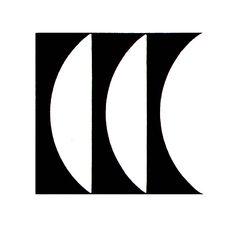 Japan Camera Club. Logo by Yusaku Kamekura.