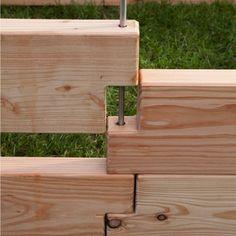 Gartenzauber Hochbeete aus Lerchenholz