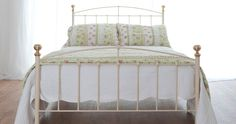 If you are looking for a beautiful, robust iron bed why not take a look at our double Jenny iron bed. All of our beds are handmade in Norfolk and are guaranteed to last you a lifetime. Beds Uk, New Beds, Wrought Iron Beds, Baby Cartoon, Baby Socks, Double Beds, King Size, Mattress, Colours