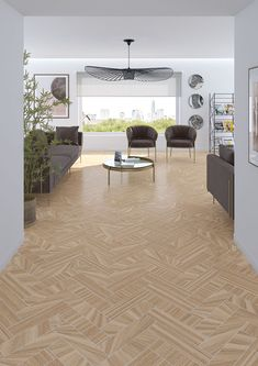 Porcelain tiles range Komi in size, is a porcelain tile with timbers like finish. Wood Effect Tiles, Wood, Timber, Tiles, Porcelain, Contemporary Rug, Porcelain Tile, Home Decor, Ceramica