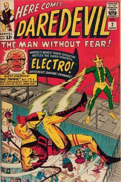 Daredevil #2 by Jack Kirby (1964)