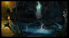 Dark Places: Area 01 by suburbbum.deviantart.com on @DeviantArt
