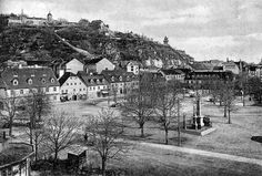 Lendplatz, Graz, in 1906 Alter, Austria, Paris Skyline, Travel, Photos, Graz, Old Pictures, Viajes, Traveling