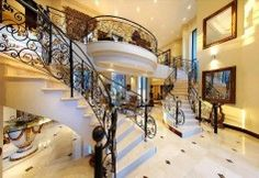 Metal Balustrades Staircases, Stairs, Metal, Ideas, Home Decor, Stairway, Decoration Home, Room Decor, Ladders