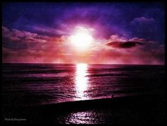 Beautiful sunset (Photo by Risa Jenner)