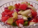 Cucumber, Tomato Summer Salad Recipe via @SparkPeople