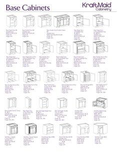 Base Cabinets 1 Base Cabinets 1 - White N Black Kitchen Cabinets Kitchen Cabinets Measurements, Kitchen Cabinet Dimensions, Kitchen Cabinet Sizes, Kraftmaid Kitchen Cabinets, Antique Kitchen Cabinets, Building Kitchen Cabinets, Diy Cabinets, Kitchen Layout Plans, Kitchen Redo