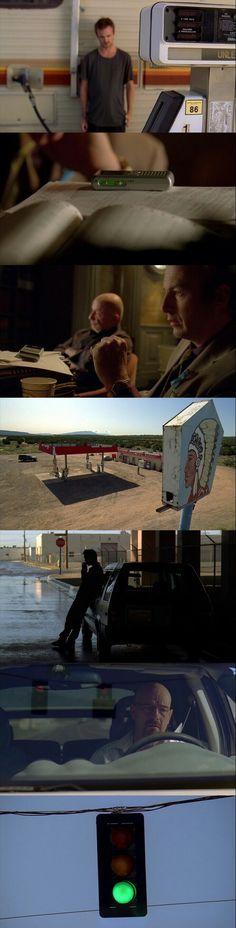 Breaking Bad(2008 - 2013) Season 3 Episode 4 : Green Light.