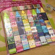 お友達にプレゼントする用マスキングテープ巻き巻きセット(*^^*)♥️