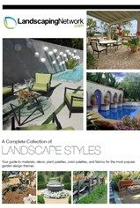 Fun page with various pdf documents relating to different styles of landscaping.