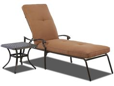 Klaussner Outdoor International Outdoor/Patio Lowell Bay Chaise Lounge