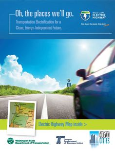 Oh, the places we'll go : transportation electrification for a clean, energy-efficient future, by the Oregon Department of Transportation