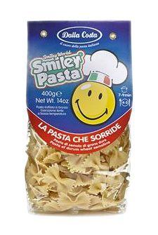 SMILEY PASTA - Farfalle. Scopri tutte le linee, i formati e i gusti favolosi della nostra pasta! Solo su: www.demarca.it