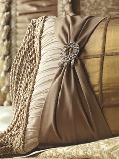 Opulent Joliet collection by Eastern Accents; my favorite vendor to purchase linens.