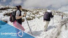 Alertan alpinistas por asaltos en el Iztaccíhuatl
