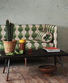 Cactus-Inspired Living Room | from Anthropologie | House & Home