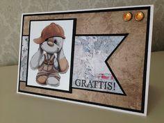 Randis hobbyverden: Bursdagskort til en töffing