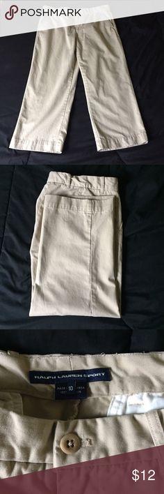 Cute Ralph Lauren Khakis! Ralph Lauren Sport khakis. Gently used, in great condition! Ralph Lauren Pants Straight Leg