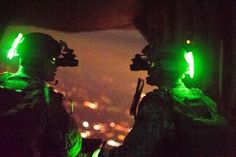 #GunRunnerHell ...... You first… U.S. Army Special Forces members prepare to jump out of a C-130J Super Hercules during Emerald Warrior 2012, Hurlburt Field, Fla., March 3, 2012.
