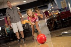 Roll in and rock out with the entire family at Splitsville Luxury Lanes at Downtown Disney in the Walt Disney World Resort