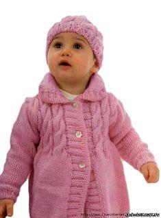 Abrigo y el sombrero para las niñas. Discusión sobre LiveInternet - Servicio de Rusia Diarios Online
