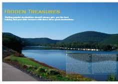 Hidden treasures double page spread