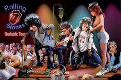The Rolling Stones - Geriatric Tour.