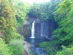 Shizuoka Shiraitonotaki 静岡県 白糸の滝