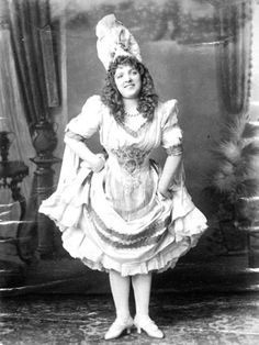 Marie Lloyd, 'Queen of the Music Hall', 1892 Catalogue reference: COPY 1/410 (259) Music hall showcase | The National Archives
